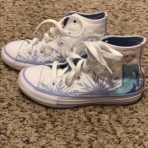 Gently used Frozen Converse Sneakers Size 13